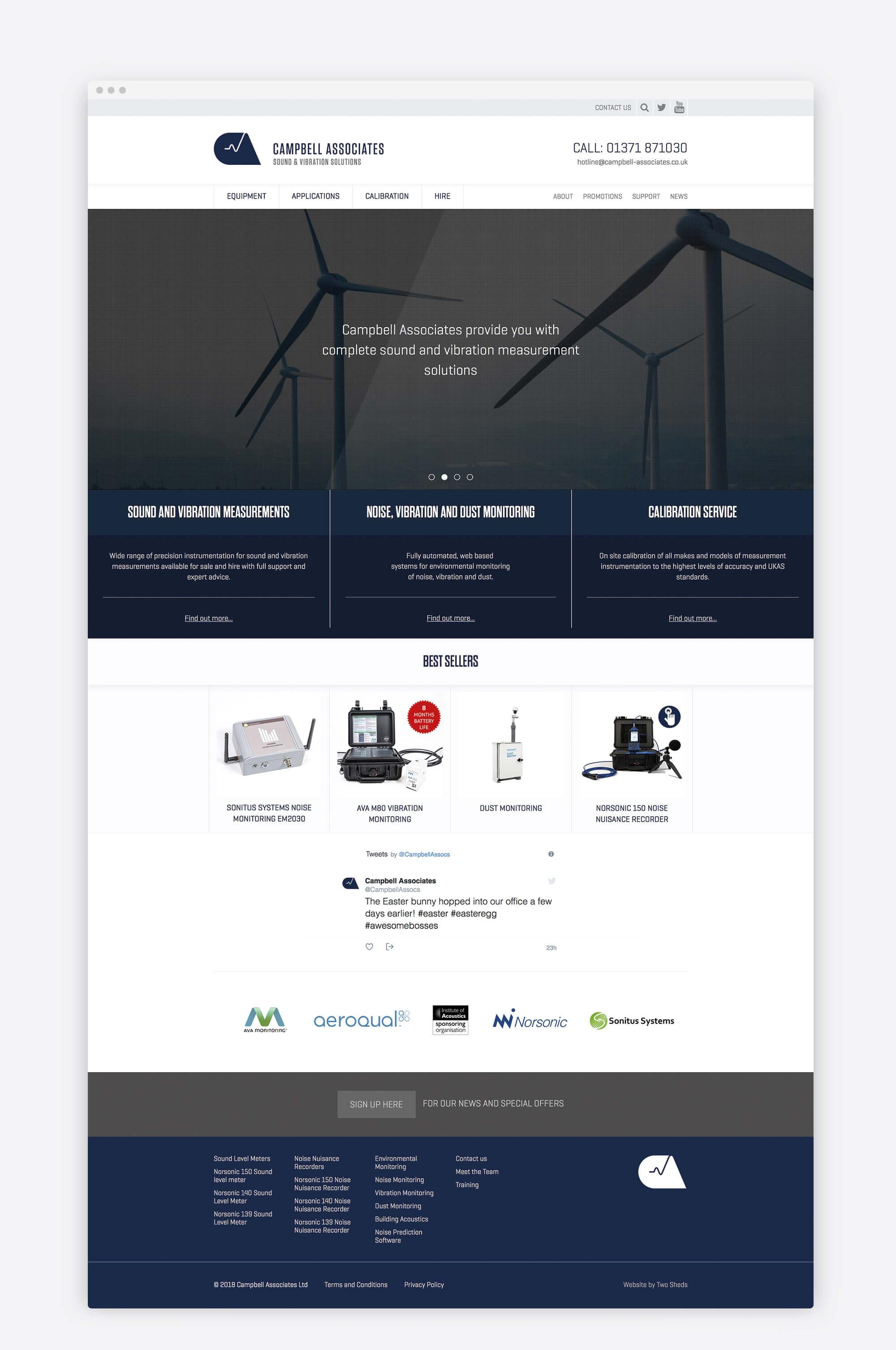 Web - Homepage