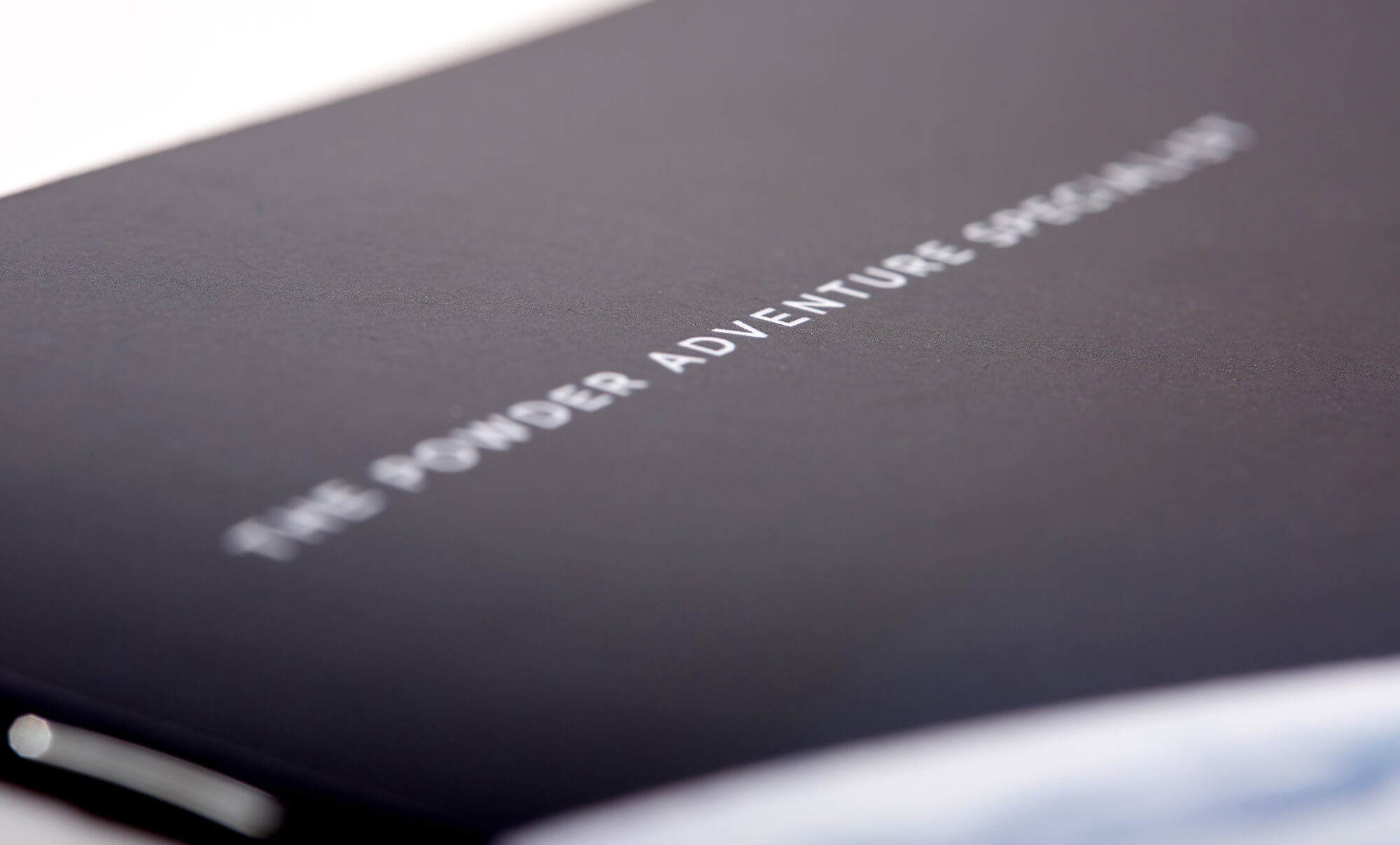 Brochure cover - detail