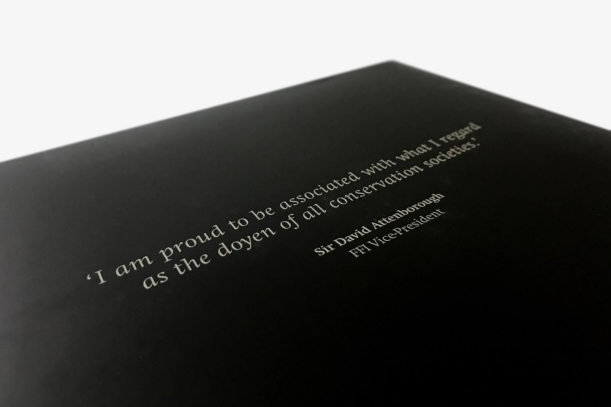 Back cover quote
